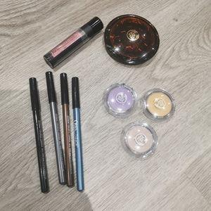 New makeup lot eyeshadow bronzer lipstick eyeliner